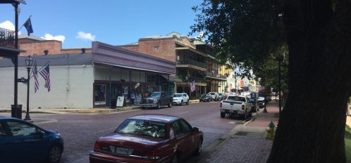 A view on Front Street, Natchitoches, LA