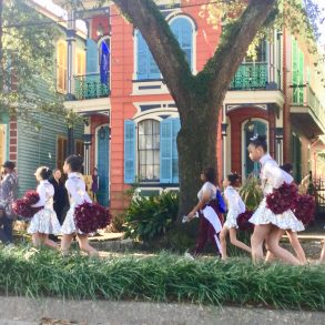 Three cheers for New Orleans!