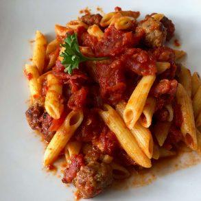 Italian food in New Orleans.